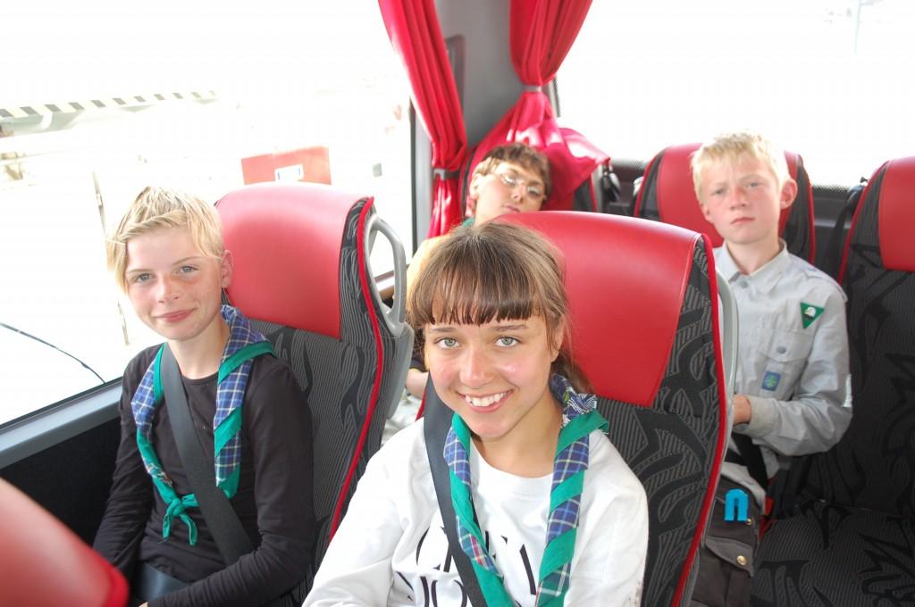 Stavanger 2013: Matte ørner og skogduer på bussen tilbake fra Preikestolen.Foto: Hanne Birte Hulløen