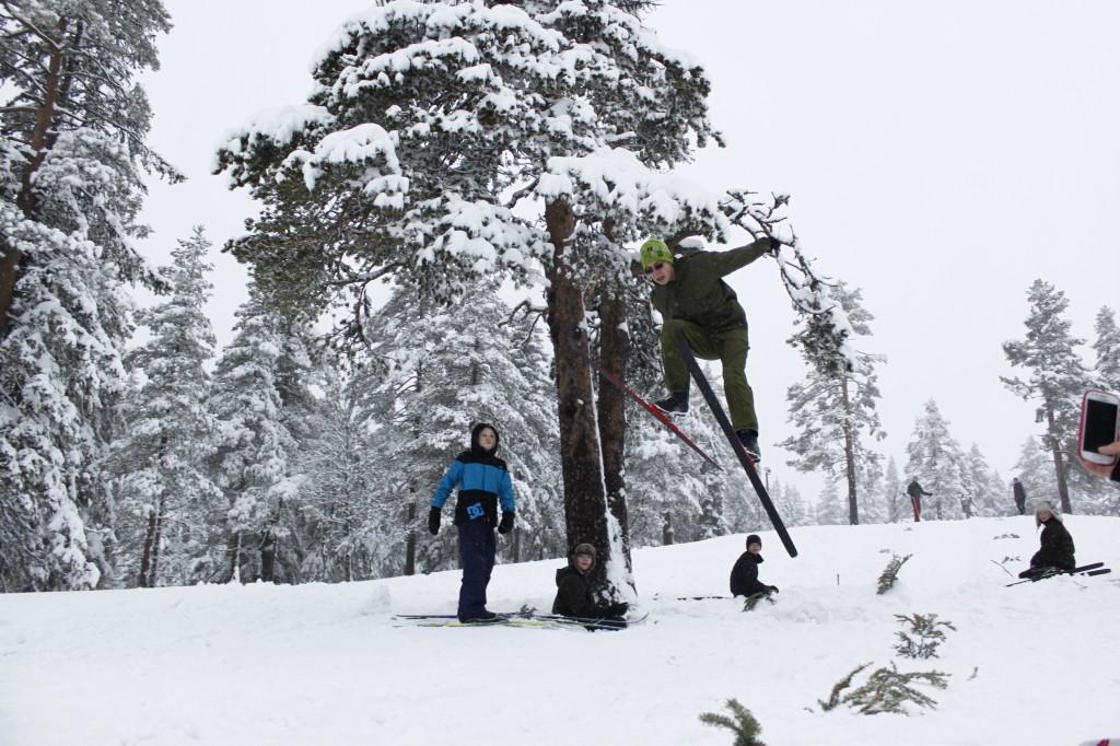 Fabian i siste omgang. Foto: Kristoffer Nilsson