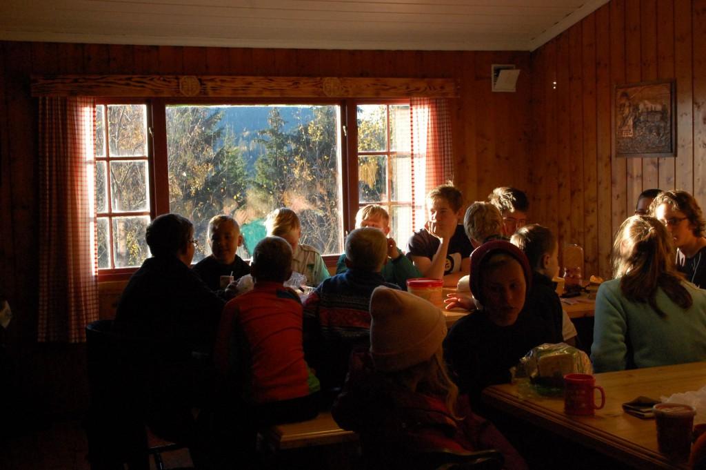 Frokost. Foto: Hanne Birte Hulløen