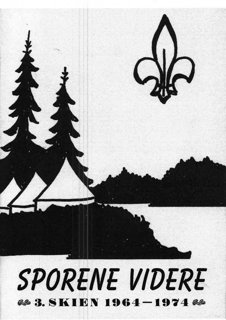 Sporene videre, 3. Skiens historie 1964-1974 - Forside