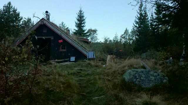 Borgestadrovernes hytte Gramsebu. Foto: Steinar Sandøy