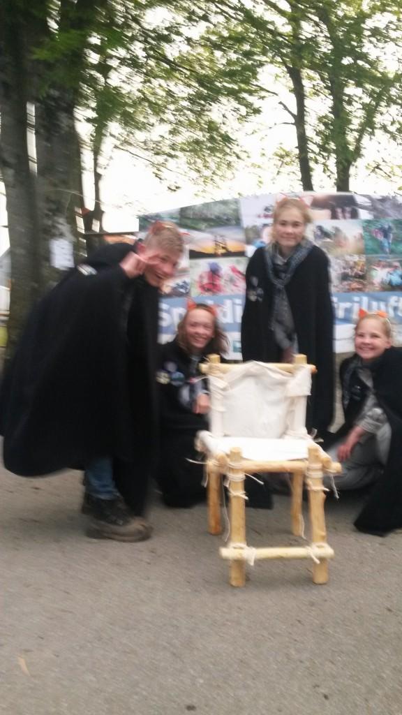 Rev fra 1. Herre med stolen fra Prsktisk oppgave. Foto: Trond Engen
