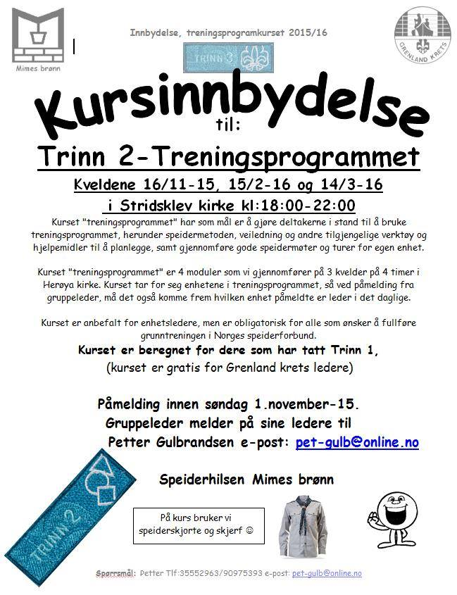 Invitasjon fra Mimes Brønn.